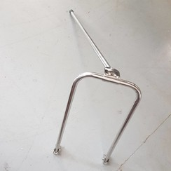 Collapsible inox support 500 x 280mm. H=740mm