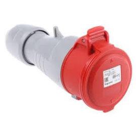 LeGrand Plug female 400V - 32A - 3P+T IP-44 - P17 Tempra