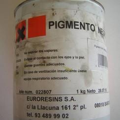 Euroresins Pigmento pasta Negro