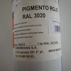 Euroresins Pigment pasta Rood
