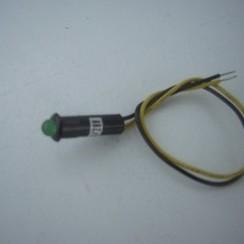 Indecatie licht 24-28V led GROEN