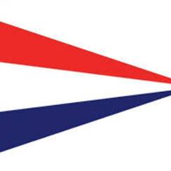 Nederlandse punt vlag 300 x 450 mm