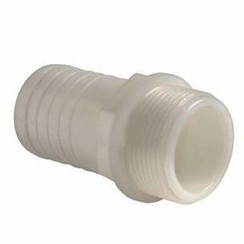 "Nylon slangpilaar male, 1"" x 22 mm"