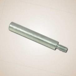 Stift zink anode 10 x 56-64mm  x M6