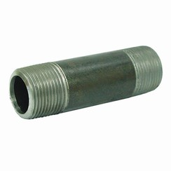 "Pezón de tubo 1/2"" x 100mm"