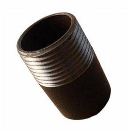 """Pezón de tubo soldadura 1 1/4"""" x 130mm"""