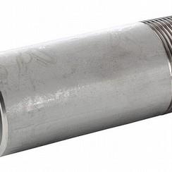 """Pezón de tubo soldadura 1 1/4"""" x 65mm"""
