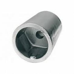 Ánodo del eje de zinc diámetro 45mm x L 75mm