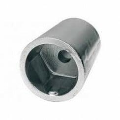 Zink schroefas anode diameter 45mm x L 75mm Beneteau HEX