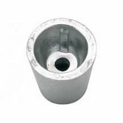 Ánodo del eje de zinc diámetro 55mm x L 87mm
