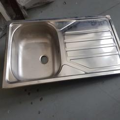 Rodi inox worktop with sink