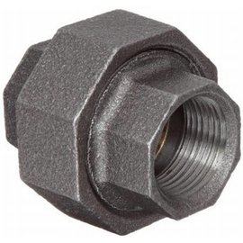 "Brass union coupling female 3/4"" x 3/4"""