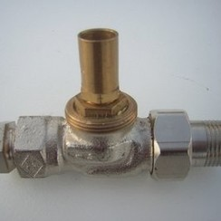 Thermostatic valve 1/2""