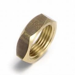 """Messing HEX moer-ring 1 1/4"""""""