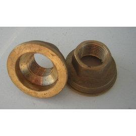 """Brass HEX nut ring 1/2"""" x 44 mm. H=25 mm."""