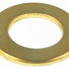 """Messing ring 1/2"""" x 38 x 3 mm."""