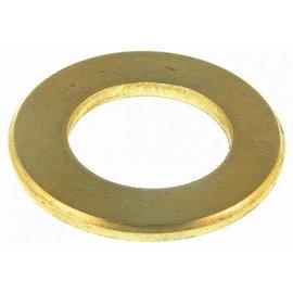 """Brass washer ring 1/2"""" x 38 x 3 mm."""
