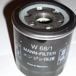 MANN Filtro de aceite W68/1