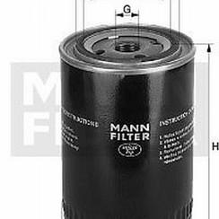 MANN Filtro de aceite W940/37