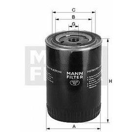 MANN MANN Oil filter W940/37