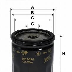WIX Filtro de aceite WL7079