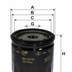 WIX Oliefilter WL7079