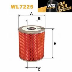 WIX Filtro de aceite WL-7225