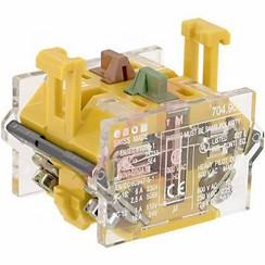 EAO Schakel e900.5. 10A-500VAC  1NC+1NO10A-500VAC