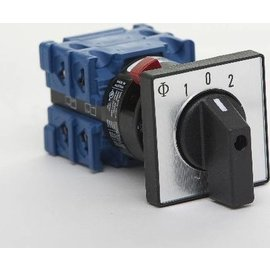 Kraus & Naimer 4 Pole switch type 1-0-2. 400VAC-20Amp