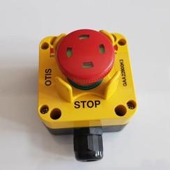 Pulsador de emergencia a prueba de intemperie max. 690V -16A