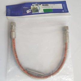 BOA BOA Butan-propan Inox gasslang met 8mm connection 30-50Mbar L=500mm