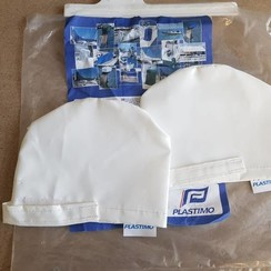 Plastimo set PVC winch covers WHITE