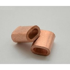 Wire sleeve 10 mm copper