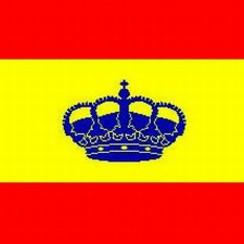 Baitra bandera España 28x46 cm