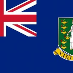 British Virgin Islands flag 100 x 150 cm