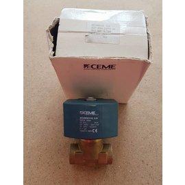 "CEME CEME Solenoid valve 1/2"" x 1/2"" max 7 bar 24V-80W"