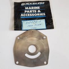 817276 1 Mercury Quicksilver Water pump face plate