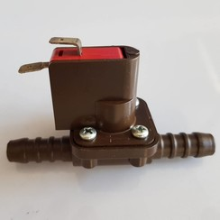 Micro interruptor 2 polos para manguera de 12 mm