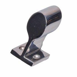 Talamex Talamex railing support 60° eind cap  Inox 22mm