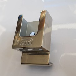 Mobile phone bracket polished Inox