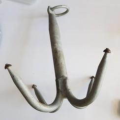Grapnel  gegalvaniseerd 30 cm