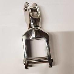 Swivel Inox binnenmaat 35 -10mm. L=140mm