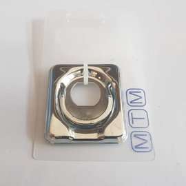 MTM Deck hatch ring for lock fitting Inox 50 x 55mm