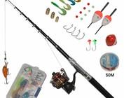 Various fishing materials