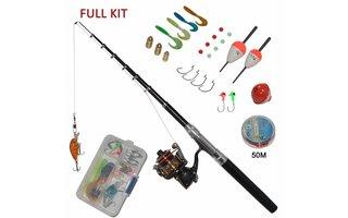 Varios materiales de pesca