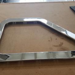 Raam frame Inox  inbouwmaat 370 x 570mm