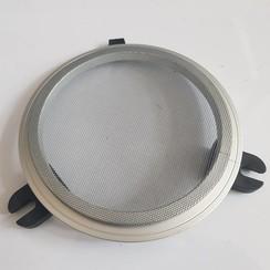 GEBO Mosquitera de aluminio redondo abierto 236mm