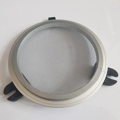 GEBO Mosquito screen aluminium round open 236mm