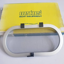 Vetus HOR25 Mosquitera de aluminio ovalada