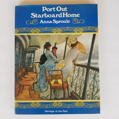 Port out Starboard home.  Anna Sproule